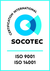 Certifications Socotec ISO 9001 et 14001